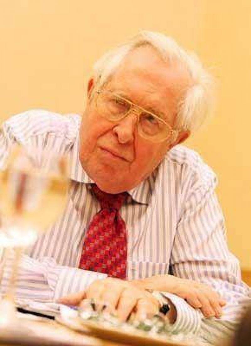 """Bernhard Vogel:  """"La crisis económica mundial comenzará a ceder en 2010"""""""