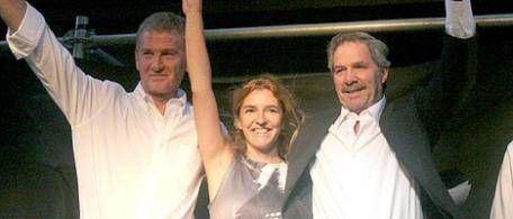 Rucci (hija) presentó su candidatura como diputada
