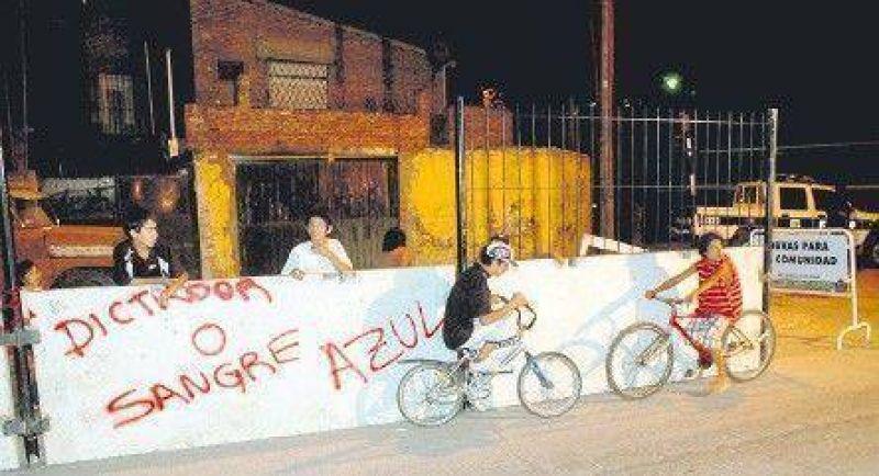 Disputa por un muro entre San Isidro y San Fernando