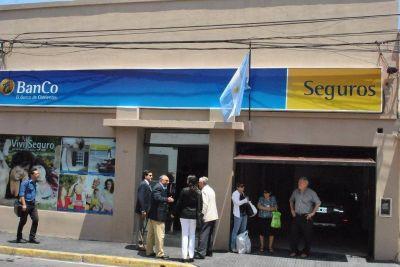 El Banco de Corrientes inauguró una sucursal exclusiva para atender Seguros