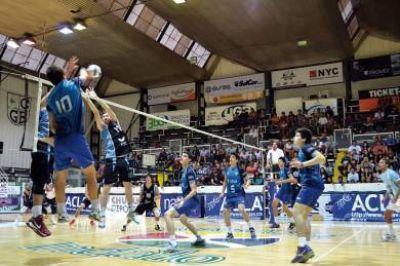 Voleibol: la Escuela Madrynense superó a la Selección Argentina Menor