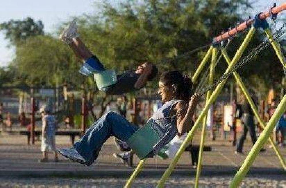Los juegos del Parque de los Niños costaron 300 mil pesos
