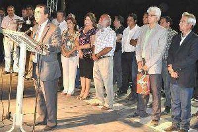 El Gobierno de la Provincia inauguró obras en el 469º aniversario de la localidad de Medellín