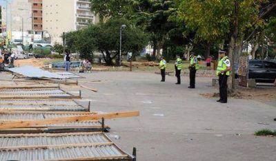 Parque Centenario: además de rejas, habrá custodia
