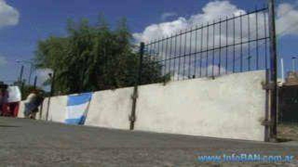 Hablan Posse y Amieiro Polémica por la construcción de un muro entre San Isidro y San Fernando