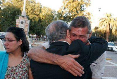 """Viale contra Jorge:""""Que deje de hacer acuerdos políticos con la muerte de mi hija"""""""