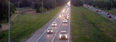 La autopista Córdoba - Carlos Paz fue la más transitada
