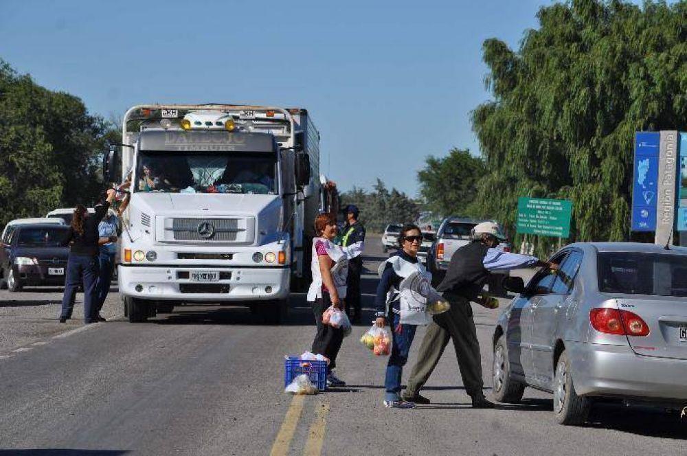 En góndola a 12 pesos; en la ruta y para protestar, a 80 centavos