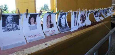 Vecinos reclamaron justicia para Sofía Viale