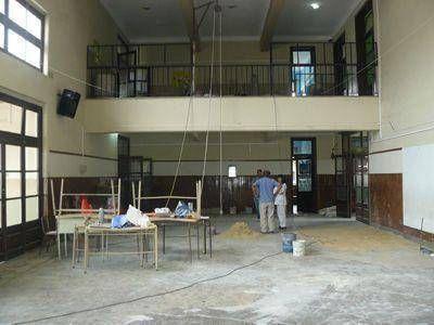 Cambiaron los pisos de  cuatro aulas en la Escuela 8