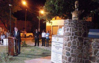 Se inaugur� la plazoleta Manuel Belgrano en G�emes