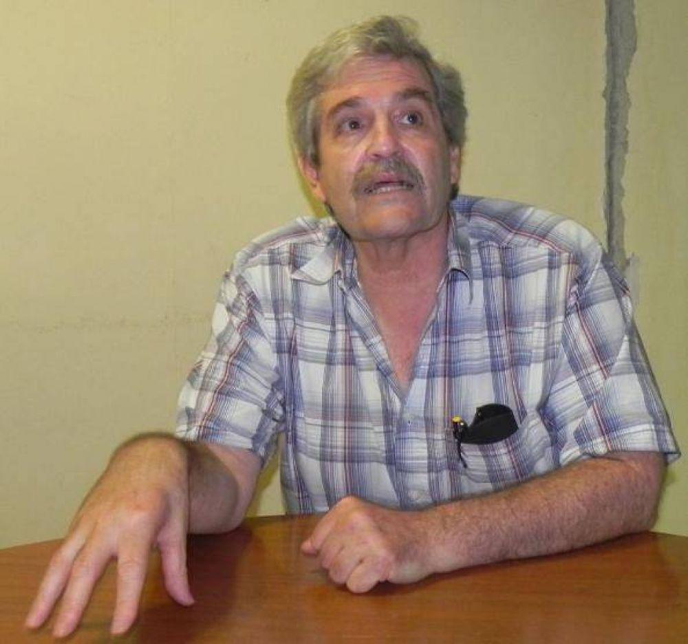 Legislador nacional vino a apoyar a los docentes de Montecarlo