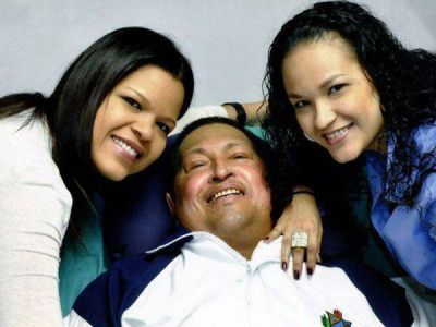 Las fotos de Chávez en Cuba