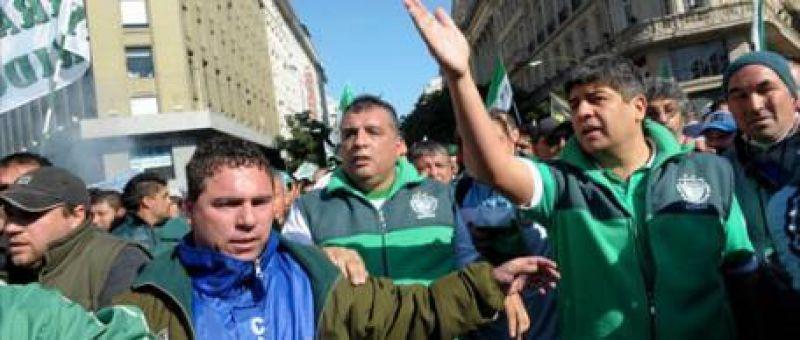 """Pablo Moyano anuncia """"gran marcha"""""""