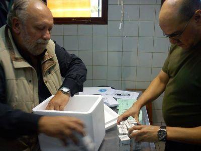 Programa Nacional de Tenencia Responsable: El veterinario Romero entregó insumos al Municipio
