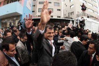 Arrasó Correa y gobernará por los próximos 4 años