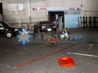 Caos en una tarde de violencia en la Barranca