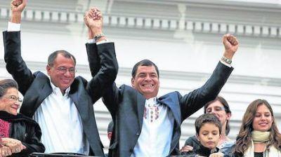 Correa arrasó en Ecuador: sacó casi el 57% de los votos