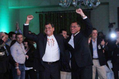 """Rafael Correa: """"Esta victoria es de ustedes"""""""