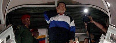 Hugo Chávez volvió a Venezuela