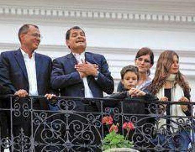 Correa promete construir la patria grande