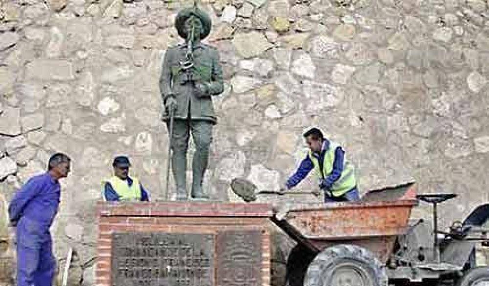 Franco ya no será más estatua
