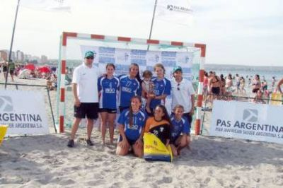 Circuito Patagónico de Beach Handball en Trelew