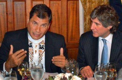 Boudou se reunió con Correa tras el triunfo electoral