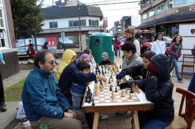 Una tarde a puro ajedrez en Ushuaia