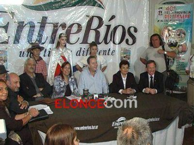 Presentaron en Paraná la 40º edición de la Fiesta Provincial del Ternero Entrerriano