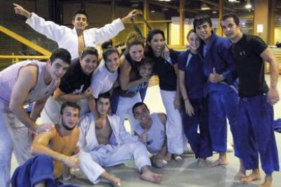 La judoca Gimena Garc�a se prepara para una gira europea