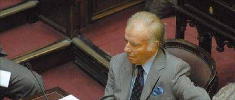 """Menem: """"Si Néstor Kirchner pierde las elecciones, será muy difícil que su esposa termine el mandato"""""""