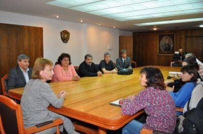 Ríos recibió a la Federación Sindical de Profesionales de la Salud de la República Argentina