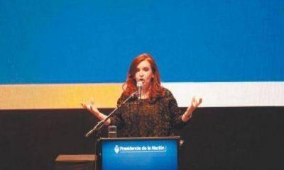 """Once: la presidenta dedicó un """"abrazo solidario"""" a familiares y sobrevivientes"""