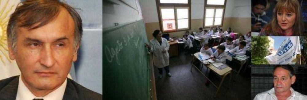 Gremios convocaron a paro docente para el lunes, día en el que empiezan las clases