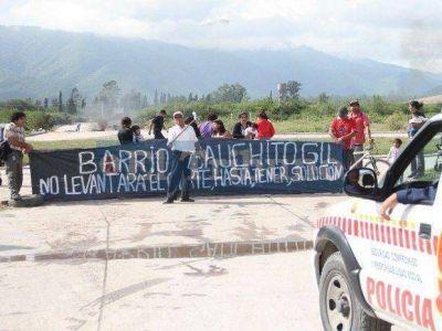 Asentamiento Gauchito Gil: levantaron el corte de la ruta 26