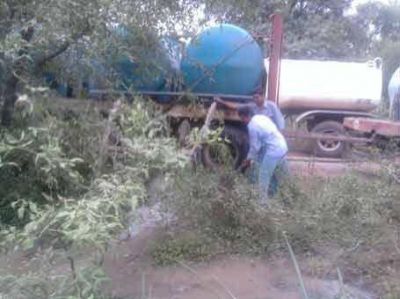 El Gobierno asiste a productores por la sequía en el interfluvio