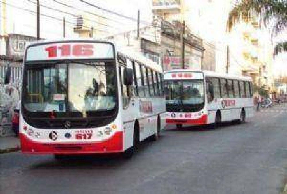 El servicio de transporte público funcionará normalmente el próximo lunes