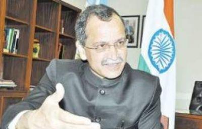 El Gobernador recibió al Embajador de la India