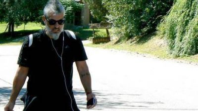 José Palazzo se fue caminando a Mina Clavero