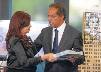 Para Scioli, la Nación girará los fondos antes del estallido