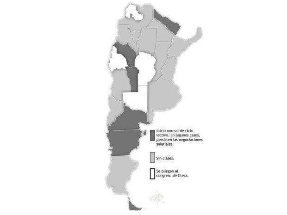 En Salta, mañana tampoco empezarán las clases por el paro