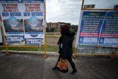 Con la crisis de fondo, Italia elige a su próximo gobierno