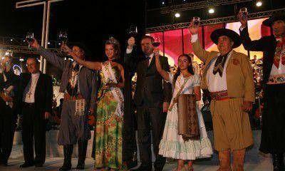 La Fiesta Nacional de Vendimia se puso en marcha con la Bendici�n de los Frutos