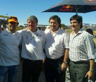 Juan Curuchet asistió al Enduro del Verano en en Villa Gesell
