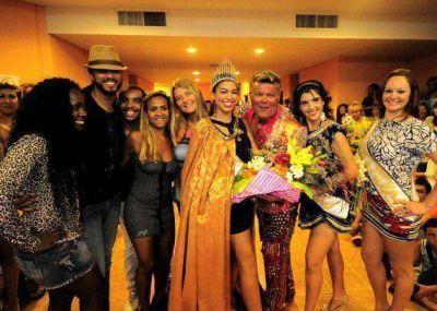 """Hebe Rodríguez es la primera """"Reina Provincial del Carnaval de Río en San Luis"""""""