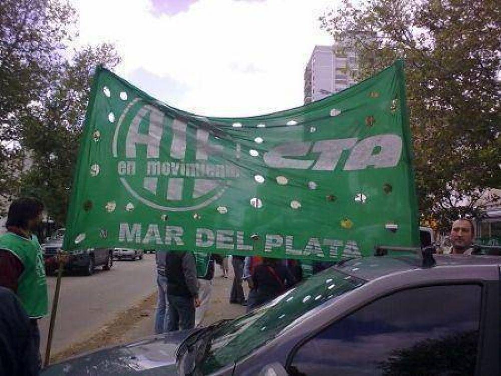 ATE - El Paro se hizo sentir en Mar del Plata