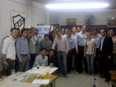 """""""J�venes Por Scioli"""" en Quilmes, �con acciones concretas�"""