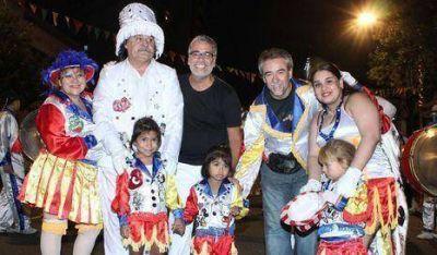 Feletti participó del carnaval porteño