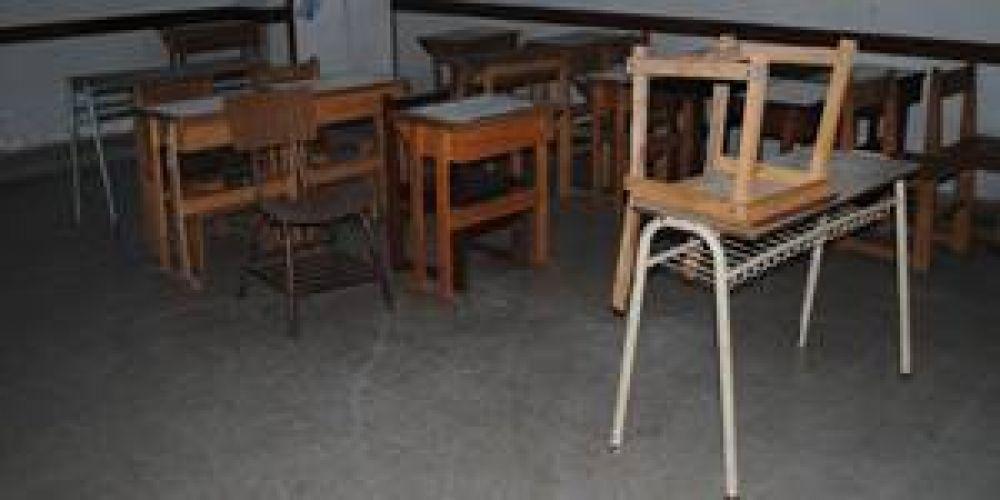 Paro docente: Alto acatamiento en la provincia